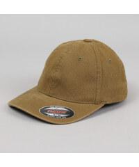 Yupoong Flexfit Garment Washed Cotton Dad Hat olivová