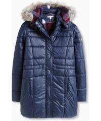 Esprit Vatovaná bunda s lemem z umělé kožešiny