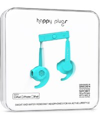 Happy Plugs In-Ear Sport Mfi turquoise