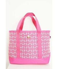 Tommy Hilfiger Elegantní kabelka TH124 růžová