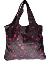 Albi Skládací nákupní taška s růžovými květy
