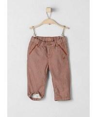 RED LABEL Junior Gefütterte Web-Hose für Babys S.OLIVER RED LABEL JUNIOR orange 74.REG,80.REG,86.REG,92.REG
