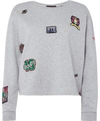 Maison Scotch Sweatshirt mit Aufnähern