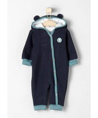 RED LABEL Junior Overall mit niedlicher Kapuze für Babys S.OLIVER RED LABEL JUNIOR blau 50/56,62