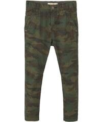 Mango CAMU Jeans Slim Fit khaki