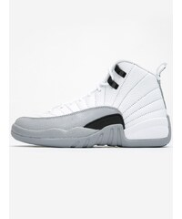Air Jordan 12 Retro GG White Black Wolf Grey
