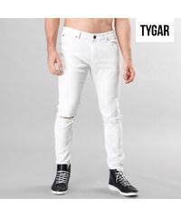 TYGAR Jeans slim fit avec découpes aux genoux