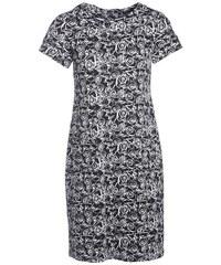 Robe droite imprimée Noir Elasthanne - Femme Taille 38 - Bréal
