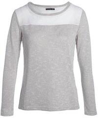 T-shirt brillant croisé dos Beige Fil metallise - Femme Taille 1 - Bréal