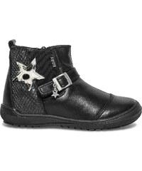 Boots Bopy Starlet cuir noir