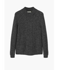 MANGO MAN Pullover Aus Wolle-Baumwoll-Mix.
