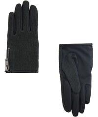 MANGO Handschuhe Mit Kontrasteinsatz