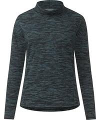 Cecil - T-shirt à large col roulé - glazed neptune bleu