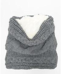Snood torsadé gris, Femme, Taille 00 -PIMKIE- MODE FEMME