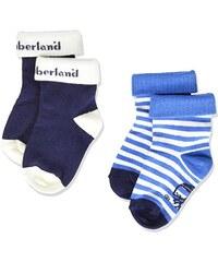 Timberland Baby-Jungen Socken T90229 2er pack
