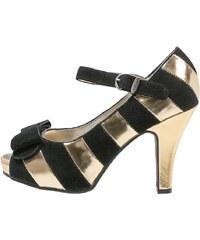 Lola Ramona ANGIE High Heel Peeptoe gold/black