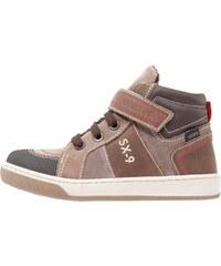 STUPS Sneaker high nero/marrone scuro