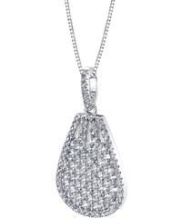 Eppi Pozlacený stříbrný náhrdelník s topazy Laly