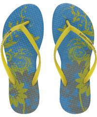 Butterfly Twists Skládací žabky Blossom Blue/Yellow BT4001-003
