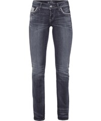 Silver Jeans Double Stone Washed Straight Cut Jeans