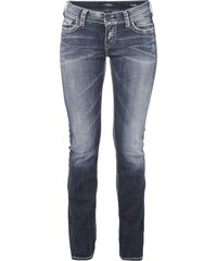 Silver Jeans Light Used Look Straight Fit 5-Pocket-Jeans