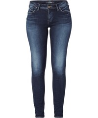 Silver Jeans Used Super Skinny Fit Jeans mit Ziernähten