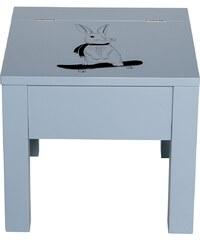 Bloomingville Dětská stolička s úložným prostorem Blue