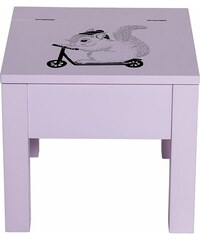 Bloomingville Dětská stolička s úložným prostorem Blush
