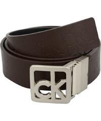 Calvin Klein Dámský oboustranný opasek Reversible Belt Black/Brown