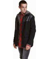 H&M Přiléhavá košilová bunda