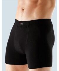 GINA Pánské boxerky s delší nohavičkou, šité, jednobarevné 74045P