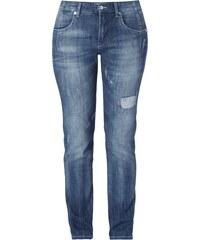 MAC Slim Fit Jeans im Used Look
