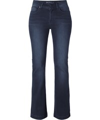 Angels Stone Washed Flared Cut High Waist Jeans