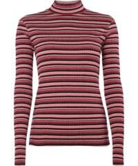 Maison Scotch Shirt mit Gitter-Effekt