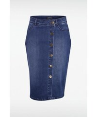 Jupe femme crayon en jean Bleu Polyester - Femme Taille 36 - Bonobo