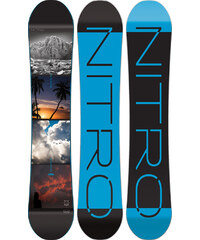 Nitro Team Exposure Gullwing 162 Wide snowboard
