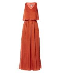 Pepe Jeans London Clary - Kleid mit Pluder-Effekt - orange