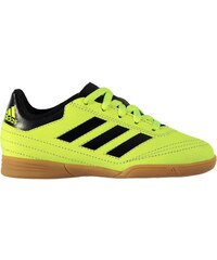 adidas F10 TRX Childrens Astro Turf Trainers Solar Yellow