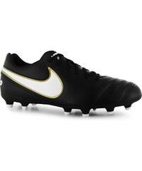 kopačky Nike Tiempo Rio pánské FG Black/White