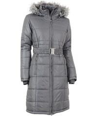 Dámský zimní kabát ALPINE PRO THERESE TMAVĚ