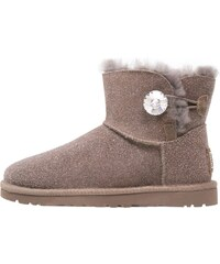 UGG MINI BAILEY BUTTON BLING SEREIN Ankle Boot stormy grey