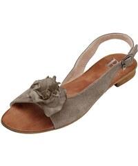 Heine Große Größen: Sandalette, taupe, Gr.35-42