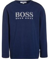 BOSS Kidswear Langarmshirt bleu de chine