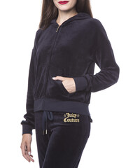 Juicy Couture Logo Velour Geo Crown Sunset Mikina