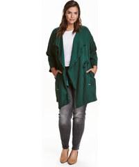 Kabát H&M+ z lyocellu
