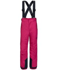 Skihose SNOW RIDE PANTS KIDS Jack Wolfskin rot 92,104,128,140,152,164,176
