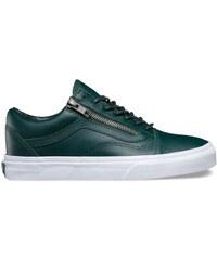 Dámské boty Vans Old skool Zip (antique silver) green Ga 38