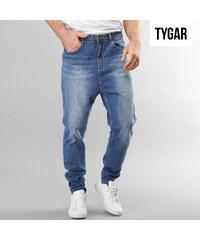 TYGAR Jeans regular délavé avec entrejambe profond