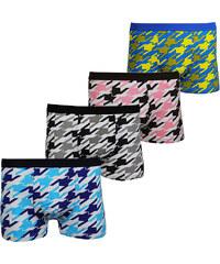 Lesara 4er-Set Boxershorts im Farbmix - M