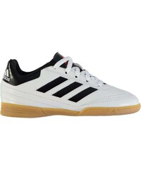 adidas F10 TRX Childrens Astro Turf Trainers White/Solar Red